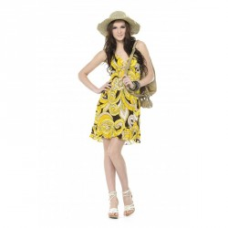 Printed Chiffon Dress